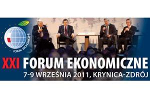 XXI Forum Ekonomiczne - Krynica Zdrój