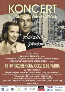 Koncert Piosenki Operetkowej w Krynicy - Patria