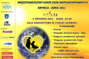 Międzynarodowy Dzień Osób Niepełnosprawnych w Krynicy