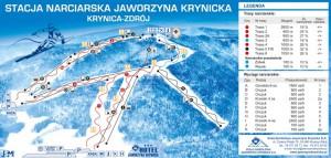 trasy narciarskie na Jaworzynie Krynickiej