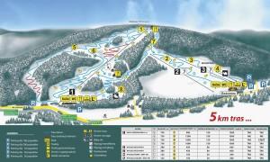 Mapa stoku Tylicz-Ski