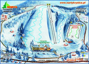 Ośrodek Narciarski Henryk Ski w Krynicy - trasy