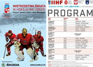 Mistrzostwa Świata w Hokeju na lodzie w Krynicy Zdrój