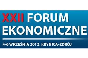 XXII Forum Ekonomiczne w Krynicy