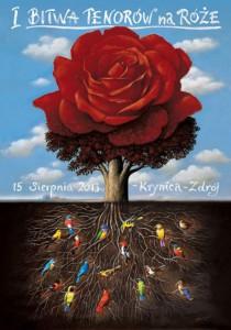 Bitwa Tenorów na Róże - plakat
