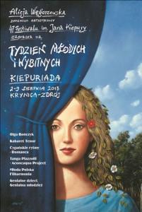 Kiepuriada - Festiwal Młodych - plakat