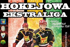mecz hokejowy KTH z Unią Oswięcim w Krynicy