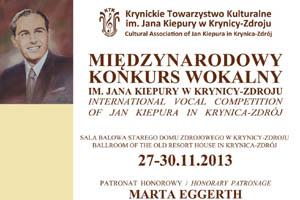 Międzynarodowy Konkurs Wokalny im. Jana Kiepury