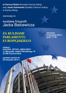 Wystawa fotografii Jacka Balcewicza - plakat