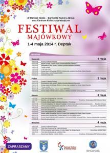 Majówka 2014 w Krynicy-Zdroju - plakat