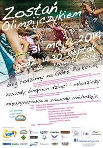 Zostań Olimpijczykiem - plakat