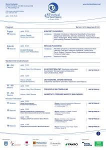 Program 48 Festiwalu Kiepury - część 2 - plakat