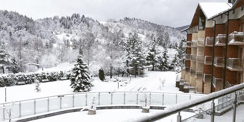 Hotel Activa zimą