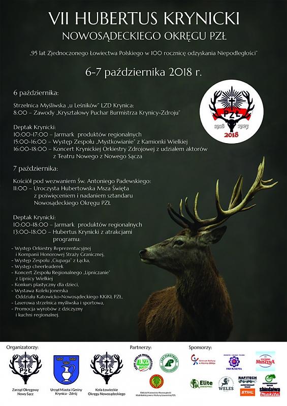VII Hubertus Krynicki - plakat