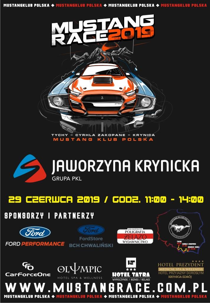 Mustang Race 2019 - Jaworzyna Krynicka - plakat