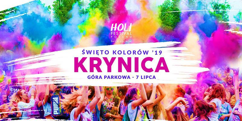 Holi Festiwal Święto Kolorów 2019 na Górze Parkowej