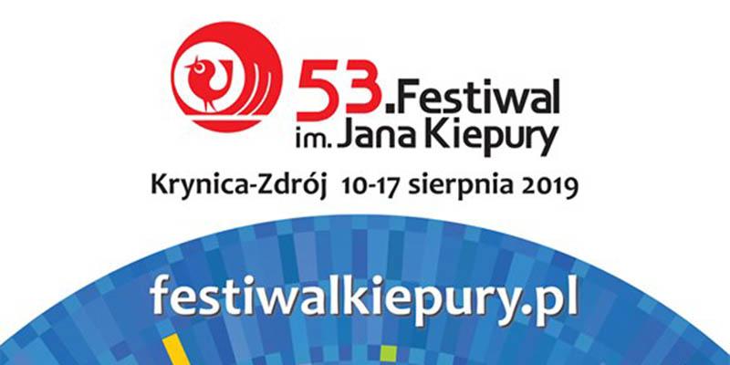 53. Festiwal im. Jana Kiepury w Krynicy