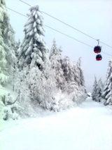 Jaworzyna Krynicka zimą